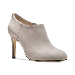 🆕 MICHAEL KORS Suede Booties Gray Ankle Boots 9